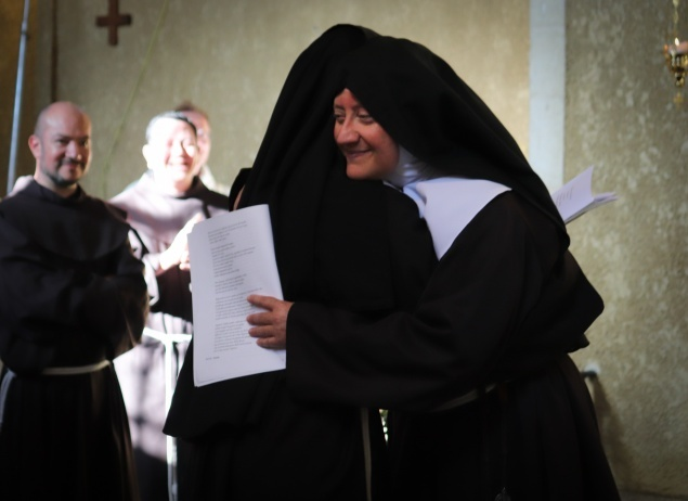 Poor Clares of Jerusalem celebrate Solemn Profession of Sr. Guadalupe de Dios