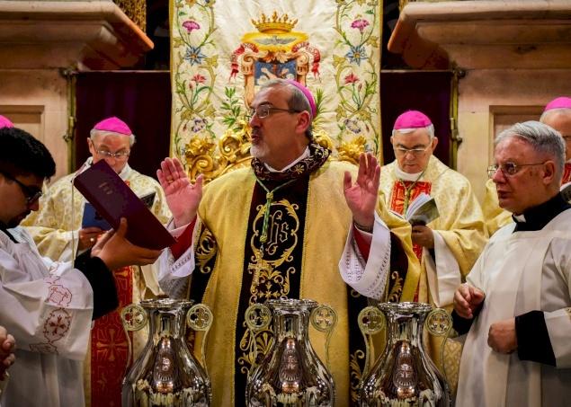 Homily of Archbishop Pierbattista Pizzaballa for Chrism Mass 2020