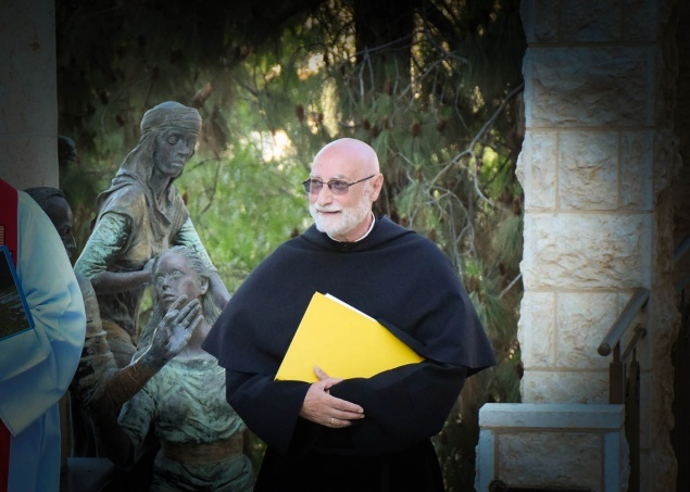 """I will not forget this land and those who continue to live in it"" says Fr. Jean-Daniel Gullung, Assumptionist, in his goodbye to Holy Land"