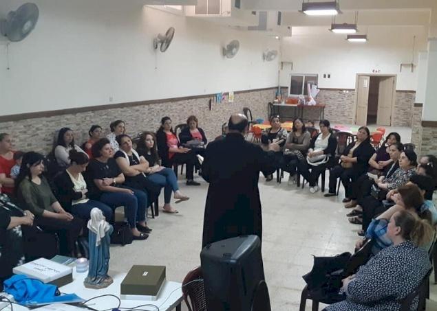 Gaza : Les groupes Sainte-Anne et Saint-Joseph unissent les fidèles de la paroisse de la Sainte-Famille