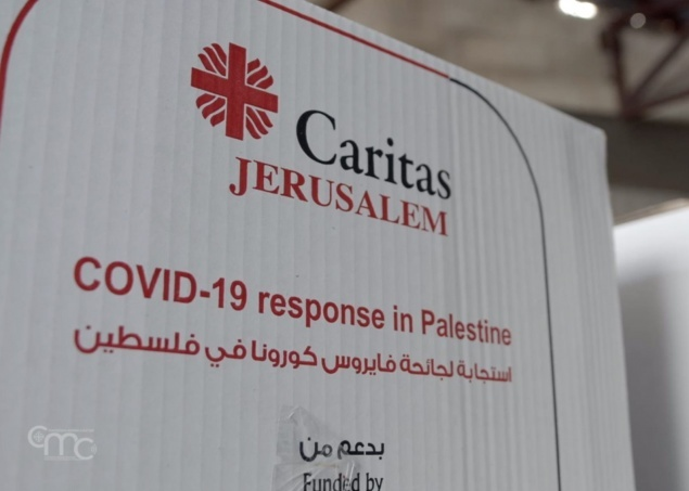 The help of Caritas Jerusalem to deal with Coronavirus in West Bank