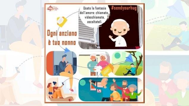 """""""كل مسنّ هو جدّك"""": عنوان حملة للدائرة الفاتيكانية للعلمانيين والعائلة والحياة"""