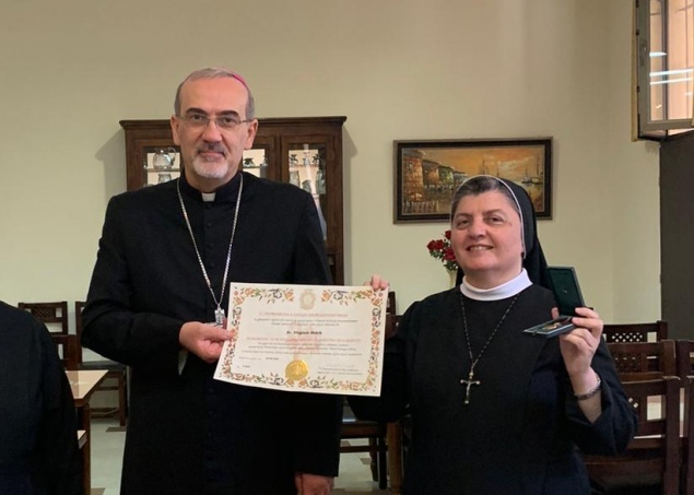"Sr. Virginie Habib: ""after 15 years of service at Catechetical office, I find that ""I have finished the race, I have kept the faith"""