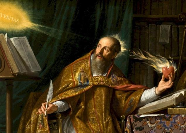 Un père et docteur de l'église nommé Saint-Augustin d'Hippone