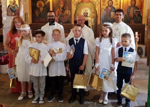 St. Paul Church in Paphos celebrates First Holy Communions