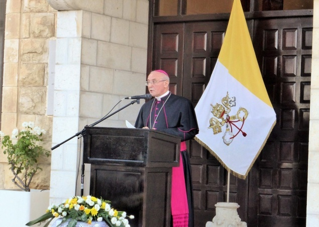 New Latin Patriarch: statement of Apostolic Delegation of Jerusalem