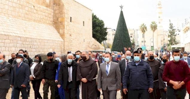 Opening of Advent Season in Bethlehem amid Coronvirus restrictions