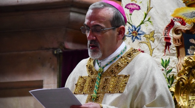 Speech of Patriarch Pierbattista Pizzaballa for his Solemn Entrance to Holy Sepulchre