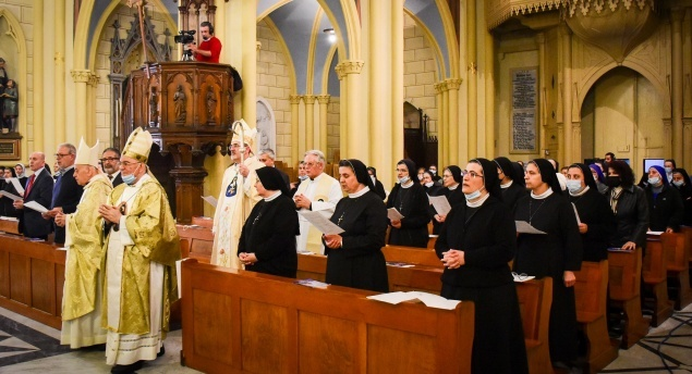 Rosary Sisters of Taybeh pray for peace and the discovering of the truth of our vocation