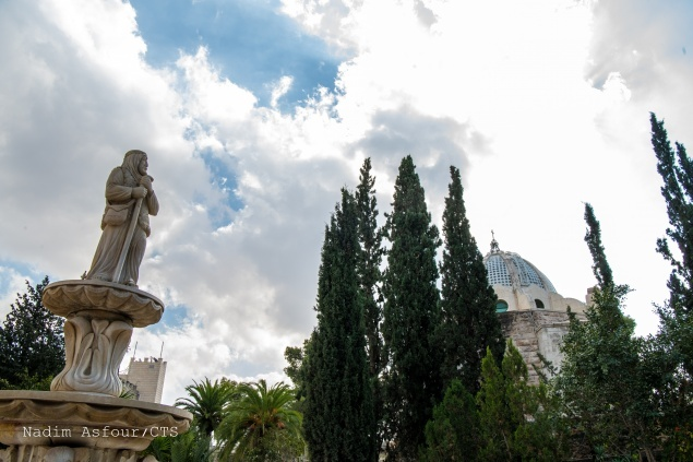 Beit Sahour: the place of the angel's annunciation to the shepherds
