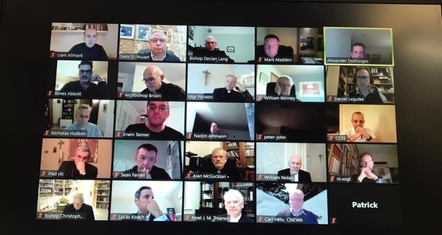 Virtual Meeting of Holy Land Coordination 2021: COVID-19, Gaza, Education