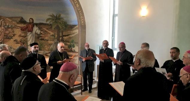 Tutta la Chiesa di Terra Santa prega con gli Ordinari Cattolici in questo tempo di Covid