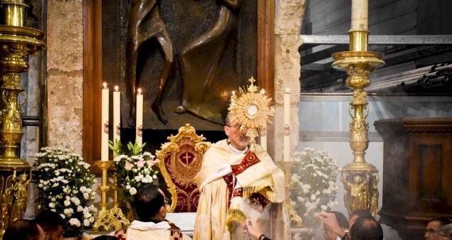 Corpus Domini 2021: Homily of Patriarch Pierbattista Pizzaballa