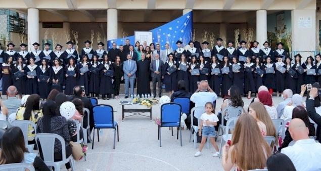 بيت جالا: مدرسة البطريركية اللاتينية تحتفل بتخريج الفوج السادس والعشرين