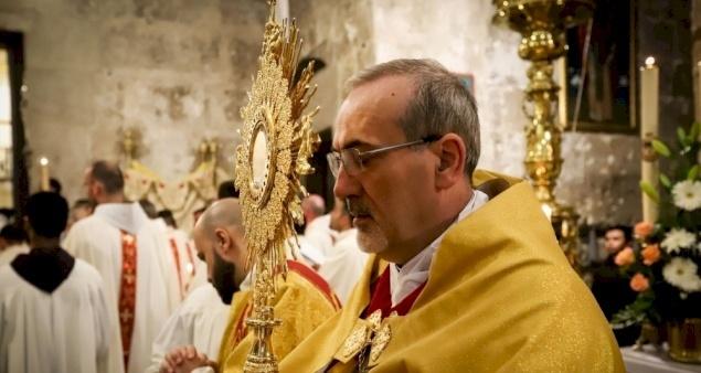 عظة غبطة البطريرك بييرباتيستا بيتسابالا: الإحتفال بجسد الربّ ودمه الأقدسين، السنة ب