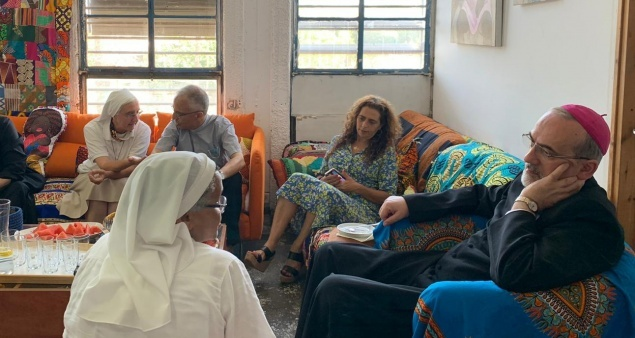 Patriarch Pizzaballa meets pastoral agents of Vicariate for Migrants and Asylum seekers in Israel