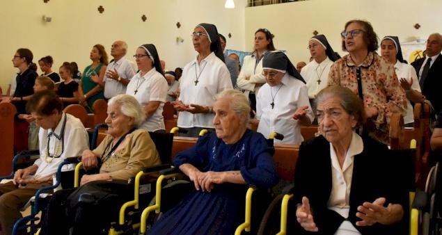رسالة قداسة البابا فرنسيس في مناسبة اليوم العالمي الأول للأجداد وكبار السن