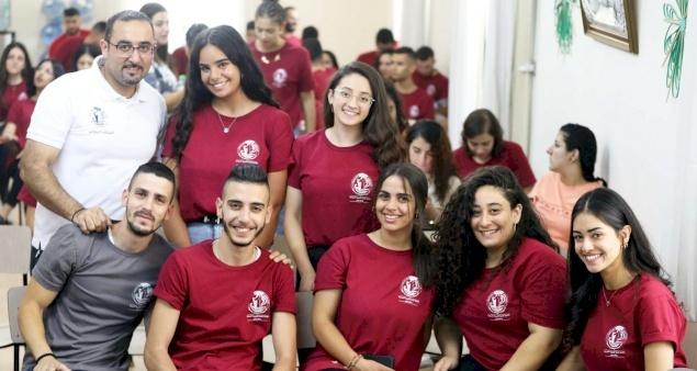 """الأمانة العامة للشبيبة المسيحية في فلسطين تنظم مخيم """"إيماني ×٧"""" للفئة الجامعية"""