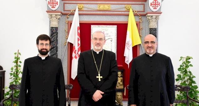 Le Père Davide Meli, nouveau Chancelier du Patriarcat latin, entre en fonction