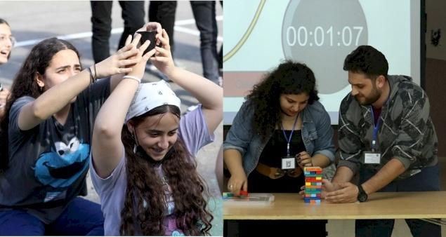 Actividades de fin de verano de 2021 para grupos de jóvenes en Palestina y Jordania