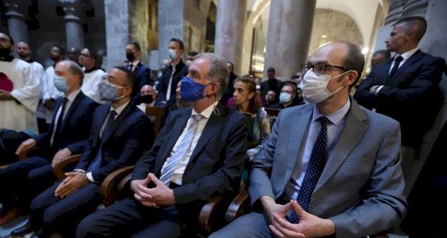 Origine des représentations consulaires de France, d'Espagne, d'Italie et de Belgique en Terre Sainte