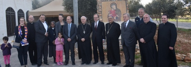 Italian Ambassador and Italian Agency for Development visit to Our Lady of Peace Center