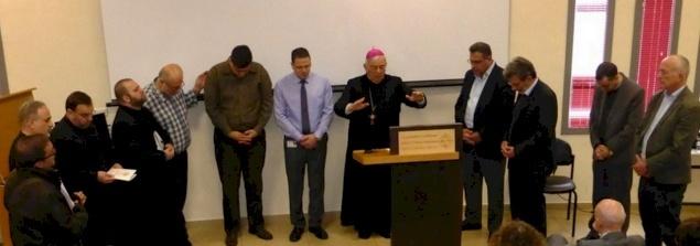 An Ecumenical Prayer Breakfast at the English Hospital in Nazareth