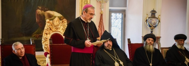 The Churches of Jerusalem present Christmas wishes to the Armenians
