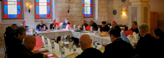 Catholic Ordinaries of the Holy Land meet in Bethlehem