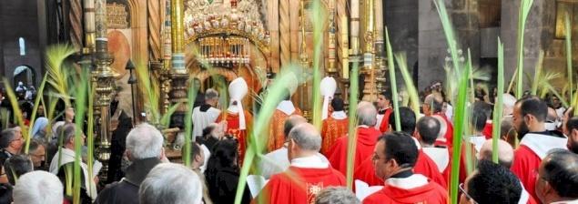 Programme de la semaine sainte 2017 à Jérusalem