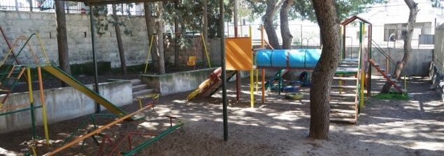 Soon a new playground for the children of Aboud