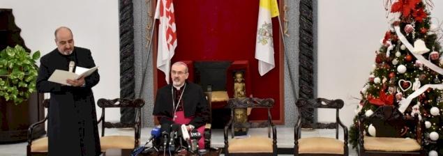 Al Patriarcato latino: conferenza stampa di Natale 2017