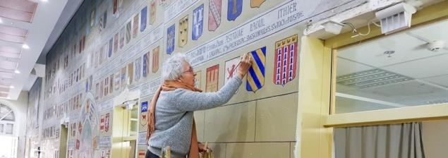 Restauro degli affreschi crociati all'Ospedale St. Louis