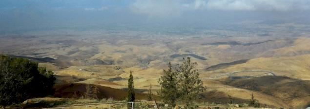 El Monte Nebo, en los ojos de Moisés