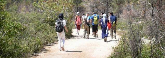 Pour rencontrer le Christ, 50 pèlerins marchent dans les pas des disciples d'Emmaüs