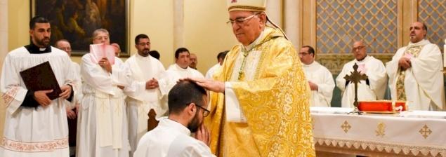 Firas Abedrabbo, nouveau diacre du Patriarcat latin: «La vocation est un appel à l'aventure et à la conversion»