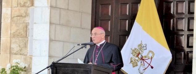 La délégation apostolique à Jérusalem et en Palestine fête ses 70 ans
