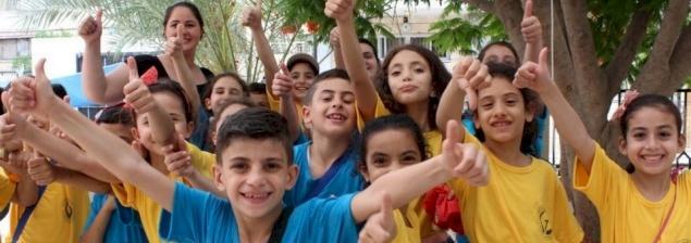 Camps d'été dans la paroisse de la Sainte-Famille à Gaza : échapper aux tensions de la vie quotidienne