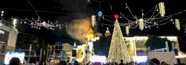 Bethlehem kicks off Christmas month with tree lighting
