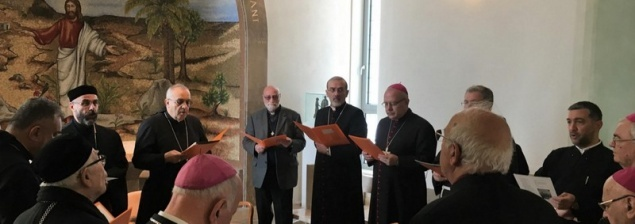 The Assembly of Catholic Ordinaries holds its plenary meeting in Nazareth