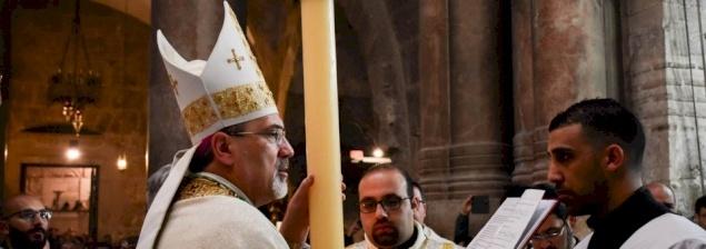 عظة رئيس الأساقفة بييرباتيستا بيتسابالا ليوم سبت النور ٢٠١٩