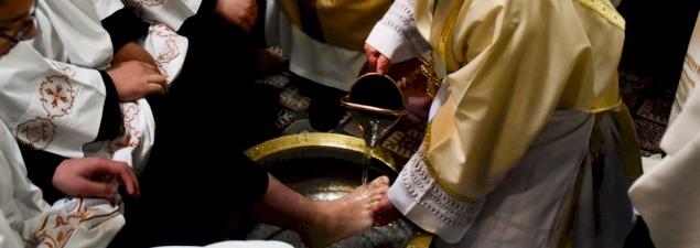 عظة رئيس الأساقفة بييرباتيستا بيتسابالا لخميس الأسرار ٢٠١٩