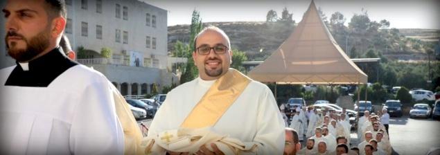 Ala' Ba'ir : un nouveau prêtre du Patriarcat latin