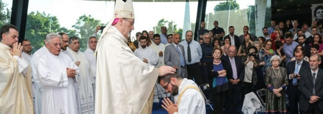En Galilea, ordenación presbiteral del español Javier Martínez Alcalá