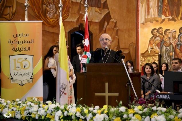 Le Patriarcat latin célèbre le 150ème anniversaire de ses écoles en Jordanie