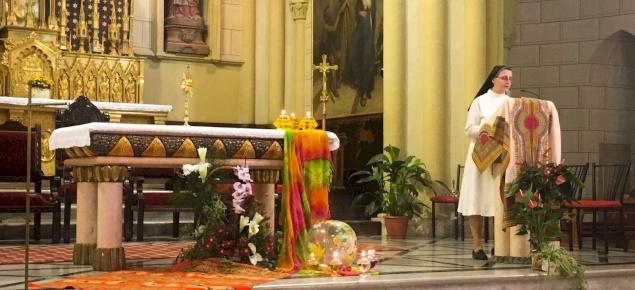 L'USRTS de Jérusalem et de Palestine inaugure l'année pastorale dans la Co-cathédrale du Patriarcat latin