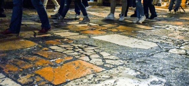 Basilica of Holy Sepulcher: floor mapping has started in preparation for restoration